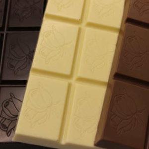 Bloc nature au chocolat noir de la chocolaterie defroidmont